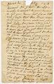 Letter from Richard Crankeapoon (?) to John Clarkson