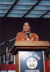 Marla Gibbs On Stage at A C Bilbrew Library