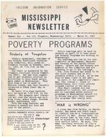 Mississippi Newsletter No. 6