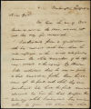 William H. Crawford letter to D. B. Mitchell, 1820