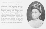 Fannie Barrier Williams