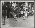Portage Park (0147) Activities - Sports - Baseball and softball, undated