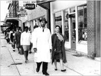 Slater King and Irene Asbury Wright
