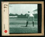 Leslie Mann Baseball Lantern Slide, No. 97