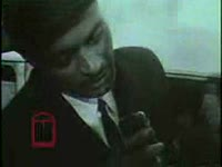 WSB-TV newsfilm clip of African American students Charlayne Hunter and Hamilton Holmes registering for classes at the University of Georgia in Athens, Georgia, 1961 January 9