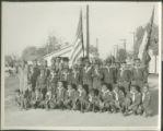 African American boyscout troop photo
