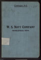 Oak Tanned Leather Belting Catalog A-3 from the W.S. Nott Company, Minneapolis, Minnesota