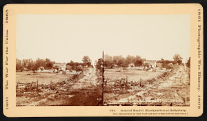 General Meade's Headquarters at Gettysburg