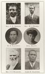 Rev. T. K. Bridges. ; Rev. W. J. Starks. ; W. R. Flournoy. ; Doll Beatty. ; Rev. P. S. Meadows. ; James R. Crabtree