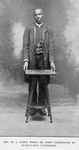 Rev. M. L. Latta when he first commenced to build Latta University
