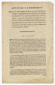 Copy of articles of agreement between the Sierra Leone Company and their artificers