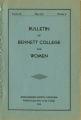 Bulletin of Bennett College for Women [May 1934]
