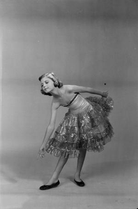 Young Carol in Ballet Costume