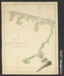 A plan of Black River on the Mosquito shore : Surveyed in 1779 / by Lieutt Hans Carden of his majesty's 60th Regt.