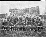 Miner's [sic] Teacher's college football team [acetate film photonegative], 1933
