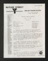 Administrative Records. Board of directors meetings, 1982, 1984, 1987-1992, 1995. (Box 1, Folder 6)