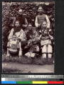 Two Christian preachers and families, Sichuan, China, ca.1900-1920