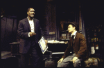 """Actors (L-R) Delroy Lindo & Duane Botte in a scene fr. the Playwrights Horizons' production of the play """"The Heliotrope Bouquet By Scott Joplin & Lous Chauvin."""" (New York)"""