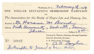 Association for the Study of Negro Life and History