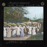 Woman Carrying Produce to Market, Jamaica, ca.1875-ca.1940
