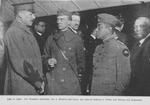 Col. Franklin Dennison, Col. J. Roberts and Lieut. Col. Otis B. Duncan of 370th (old Illinois 8th Regiment)