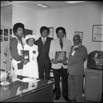 Frank Holoman and Gil Lindsay, Los Angeles, 1973