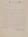 Letter to Edgar A. Allen from L. C. Slavens, Jr.