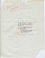 "Unknown to ""Dear Friend"" (9 October 1962)"