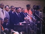 Marchers at the State Capitol in Montgomery, Alabama, at the end of the Selma