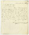 Letter by Henry V. Toomer, M.D., Charleston, to John S. Ryan