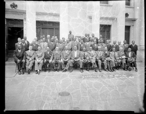 Scottish Rite Masons conference [acetate film photonegative]
