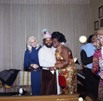 Berry Gordy at his New Year's Eve party, Los Angeles