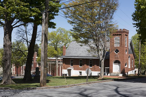 Building on the campus of the former Storer College in Harpers Ferry, West Virginia