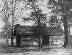 Evolution of the Negro home; Slave - cabins, Southern United States [loaned by Southern Workman]
