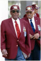 Tuskegee Airmen James Randall, Franklin Macon and Randy Edwards