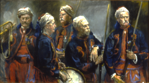 """Fifty Years after the Battle, Fifth New York Volunteer Infantry--First Duryee Zouaves, Known as the """"Fighting Fifth"""""""