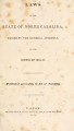 Laws of the State of North Carolina, passed by the General Assembly [1840-1841]