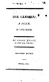 The Glosser, a Poem in two books