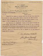 Agreement between Dana A. Dorsey and Cuban Title Co.