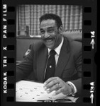 Clarence E. Cabell, first African American appointed Los Angeles County Clerk, 1973