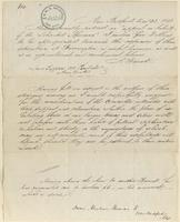 """Letter from """"A Friend"""" to Lewis Tappan"""