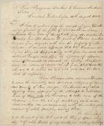 [Letter], 1800 Aug. 14, Cowetuh Tallahassee [i.e., Coweta Tallahassee] to Governor James Jackson / Benjamin Hawkins