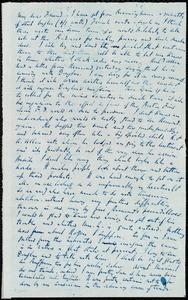 Letter from Richard Davis Webb, [Dublin?, Ireland], to Maria Weston Chapman, [1846?]