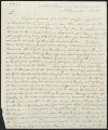 David Brydie Mitchell letter to John Dickerson, 1823
