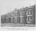 Clay Street houses in Richmond, typical of many Negro homes in this section formerly occupied by white people