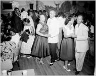 Dance party for African-American employees of Davison-Paxon Company, Atlanta, Georgia, May 11, 1956. Held at the Elks Club, Auburn Avenue