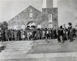 Dedication of St. Anthony Mission and School, Dallas, Texas, 1938