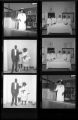 Set of negatives by Clinton Wright including Russell, Elder Shaw and Family, Elder Ming, Elder Wyn and Doris, Burma Slucher and Sis, Mother Porter, and Lord's Supper Committee, 1967