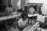 Sewing Class at the Pine Street YWCA
