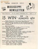 Mississippi Newsletter No. 25